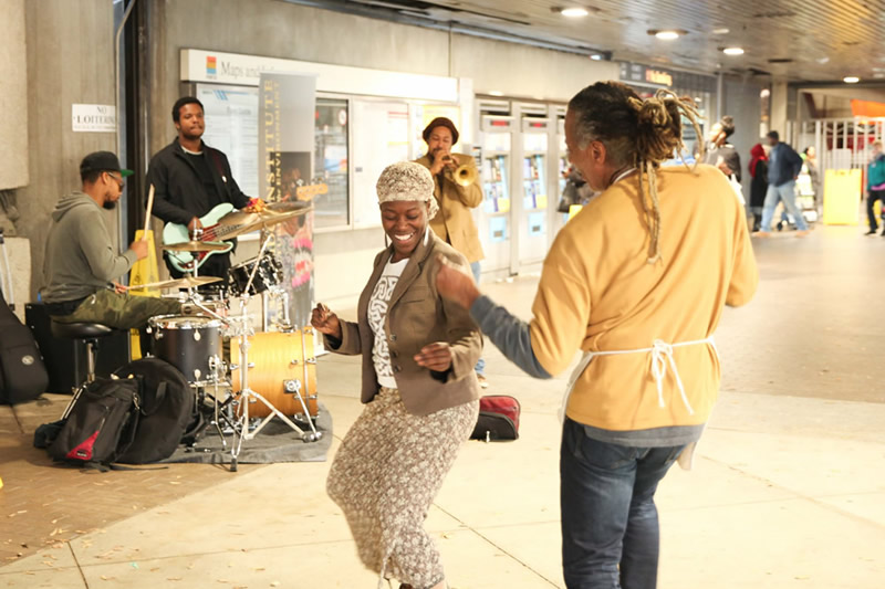 Dashill Smith and his band turn up the heat at West End Station